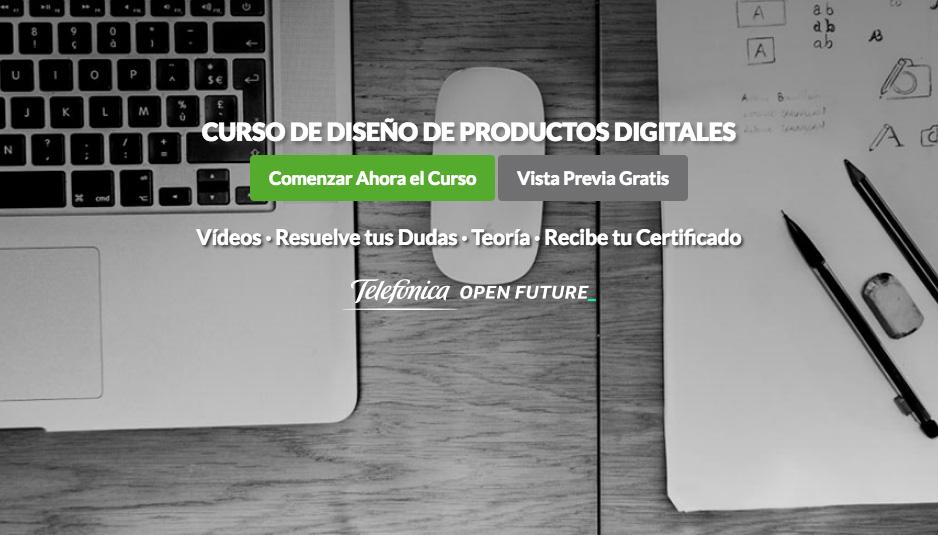 Curso de Diseño de Productos Digitales de OpenWebinars