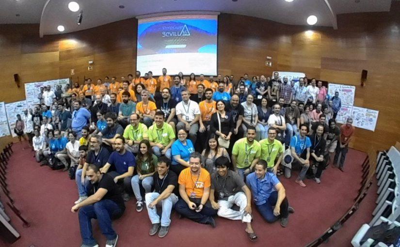 WordCamp Sevilla 2016, foto de los asistentes