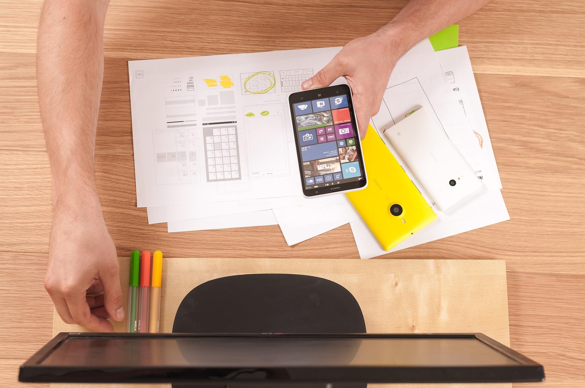 Diseñando una interfaz móvil